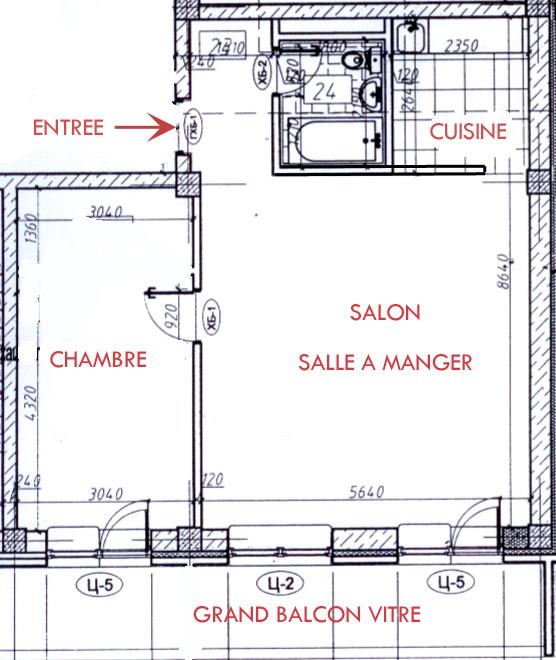 plan appartement a louer